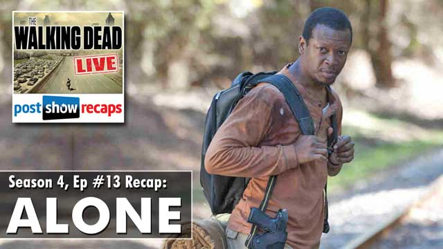 The Walking Dead Season 4 Episode 13 Recap: ALONE
