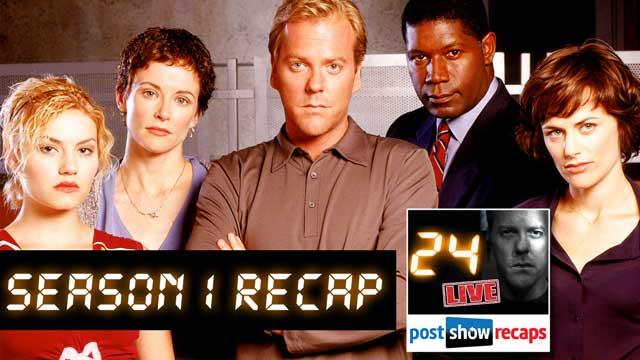 Looking Back to Recap Season 1 of 24