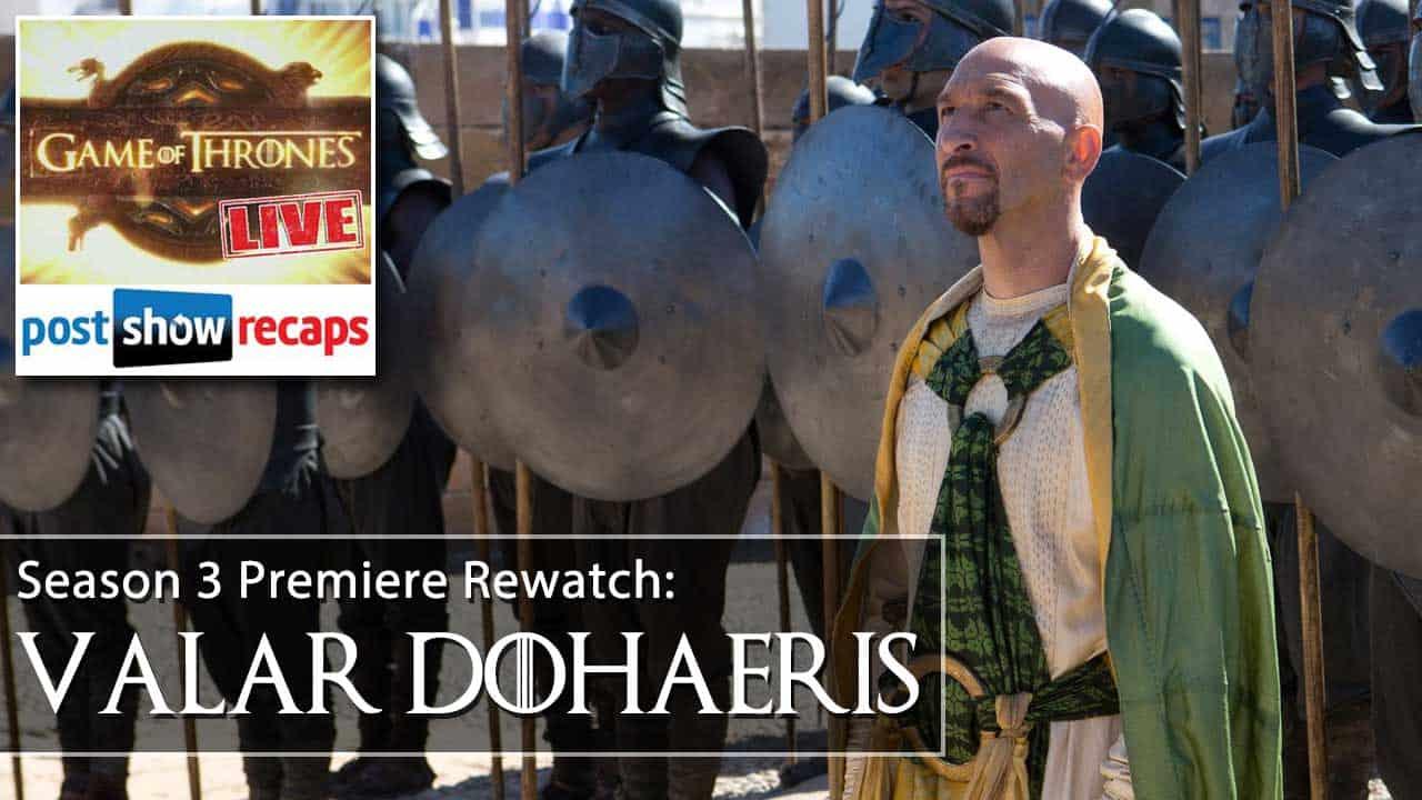 Game of Thrones Season 3 Episode 1 Recap: Valar Dohaeris