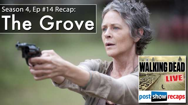 The Walking Dead Season 4 Episode 14 Recap: A Review of THE GROVE