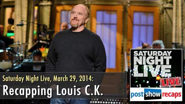Saturday Night Live Recap: Louis CK Review
