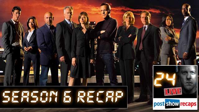 24 Season 6 Recap