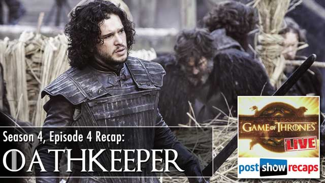 Game of Thrones Season 4 Episode 4 Recap: Oathkeeper Review