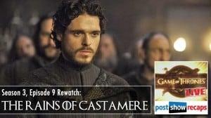 Game of Thrones Season 3 Episode 9: The Rains of Castamere