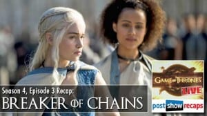 Game of Thrones Season 4, Episode 3 Recap: Breaker of Chains Review