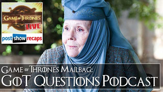Game of Thrones Season 4, Episode 4: Feedback Show