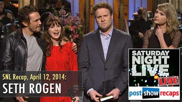 Seth Rogen SNL Recap