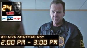 24 Live Another Day Episode 4 Recap: 2:00 pm – 3:00 pm