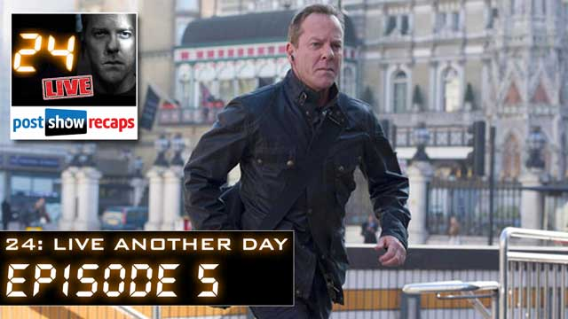 24 Live Another Day Recap: Episode 5 Review, 3:00 pm - 4:00 pm