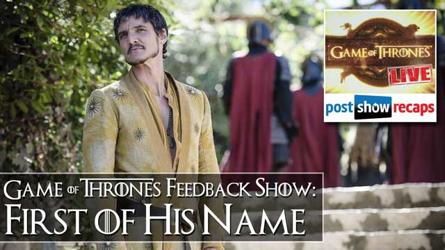 Game of Thrones 2014: Listener Feedback Mailbag for 'First of His Name""