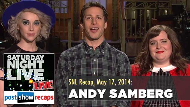 Survivor 2014: Recap of Andy Samberg Hosting Saturday Night Live