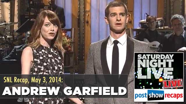 SNL Recap:  Andrew Garfield Hosts Saturday Night Live on May 3, 2014