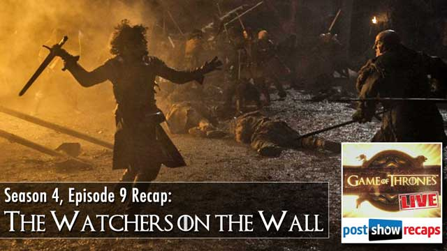 Game of Thrones Season 4, Episode 9 Review: The Watchers on the Wall Recap