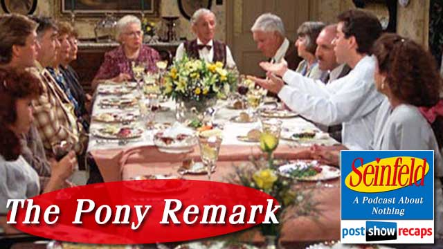 "Seinfeld, The Post Show Recap: Review of Season 2's ""The Pony Remark"""