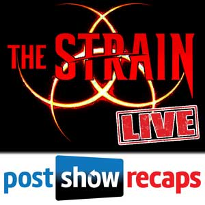 "Subscribe to our ""The Strain"" Only Podcast Feed in iTunes"
