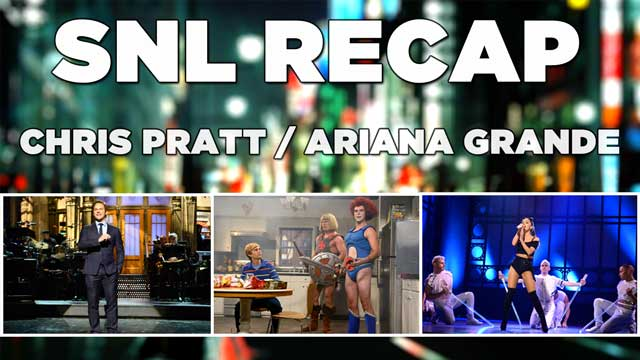 SNL 2014: Recap of Saturday Night Live's 40th Season Premiere hosted by Chris Pratt with musical guest Ariana Grande from September 27th, 2014