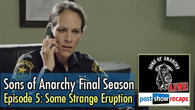 e05-coverSons of Anarchy 2014: Recap of Season 7, Episode 5 - Some Strange Eruption