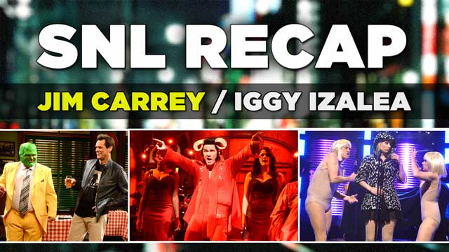 SNL Recap: We review Jim Carrey Hosting Saturday Night Live with musical guest Iggy Izalea from October 25, 2014