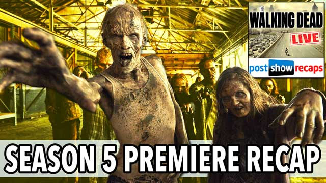 "The Walking Dead 2014: LIVE Recap of the Season 5 Premiere, ""No Sanctuary"" on October 11th, 2014"