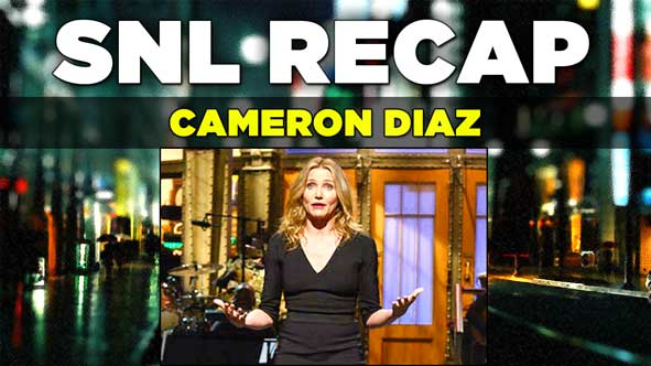 SNL 2014: Recap of Cameron Diaz Hosting Saturday Night Live from November 23, 2014