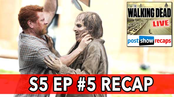 "The Walking Dead 2014: Season 5, Episode 5 Recap, ""Self Help"" Review LIVE on November 9, 2014"