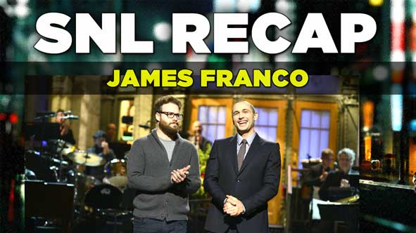 SNL Recap: Review of James Franco hosting Saturday Night Live on December 6, 2014
