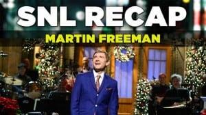 SNL Recap: Martin Freeman Hosts on December 13, 2014