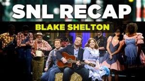 SNL Recap: Blake Shelton Hosts on January 24, 2015