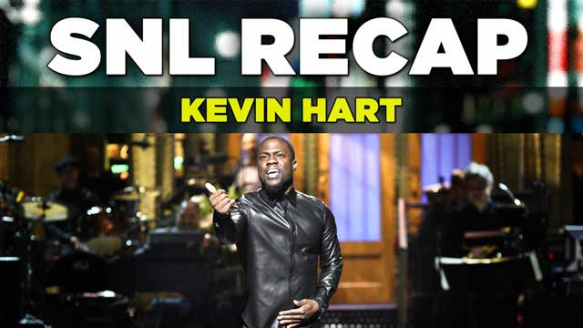 SNL RECAP: Review of Kevin Hart hosting Saturday Night Live on Saturday, January 17th, 2015