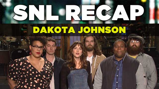 SNL 2015 Recap: Dakota Johnson hosts Saturday Night Live on February 28, 2015