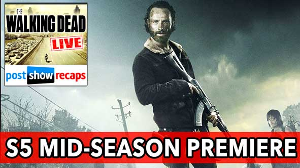 Walking Dead Season 5, Episode 9 Mid-Season Premiere Recap | What Happened and What's Going On | February 8, 2015