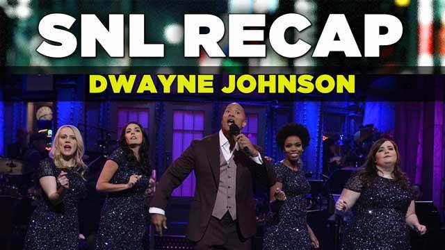SNL Recap: Dwayne Johnson hosts an all-new SNL