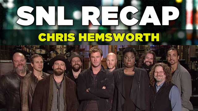 SNL Recap: Chris Hemsworth Hosts on March 7, 2015