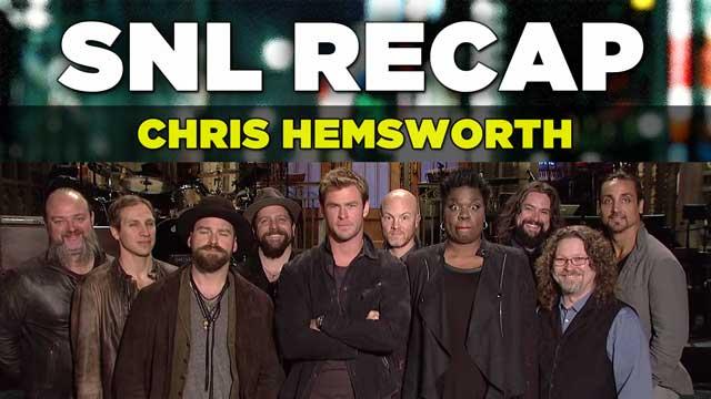 SNL Recap: Chris Hemsworth Hosts on March 7, 2015