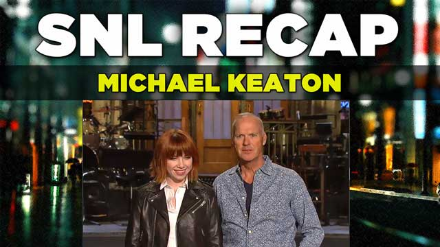 SNL Recap: Michael Keaton hosts an all-new SNL