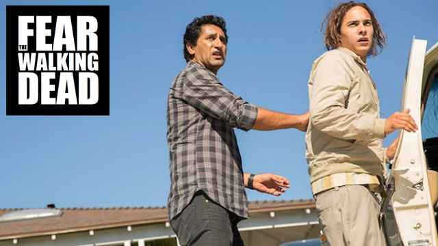 Cliff Curtis and Frank Dillane on FEAR THE WALKING DEAD