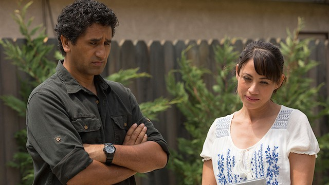 Cliff Curtis and Elizabeth Rodrigues on FEAR THE WALKING DEAD