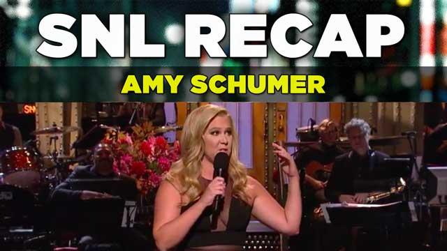 SNL Recap: Amy Schumer hosts SNL on October 10, 2015