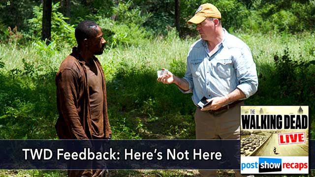 "Walking Dead 2015: ""Thank You"" Feedback Show - Here's Not Here"