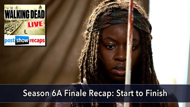 The Walking Dead 2015: Season 6 Episode 8 Recap Podcast | Start to Finish
