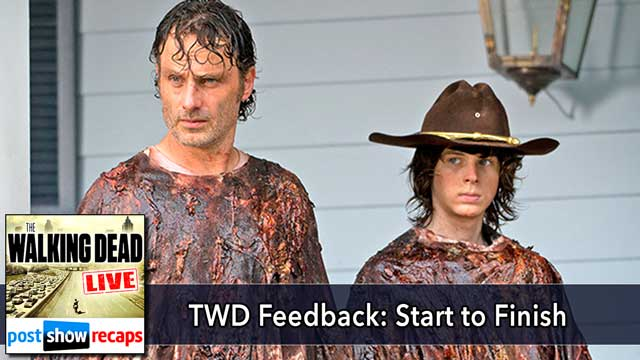 The Walking Dead 2015: Season 6, Episode 8 Feedback Show | Start to Finish