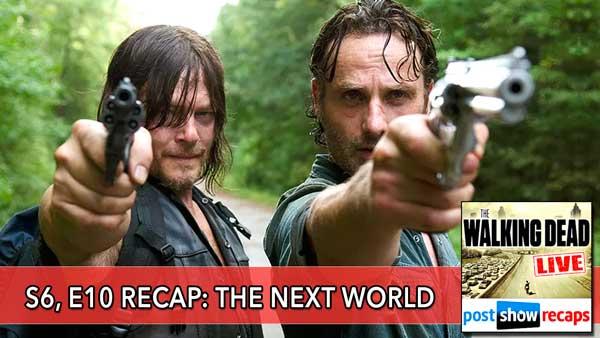 The Walking Dead 2016: Season 6, Episode 10 Recap of The Next World