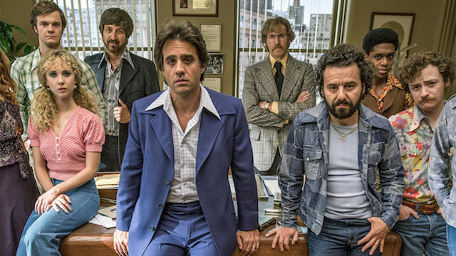 Bobby Canavale and the cast of HBO's Vinyl