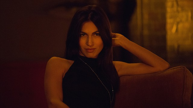 "Elodie Yung as Elektra on ""Marvel's Daredevil"""