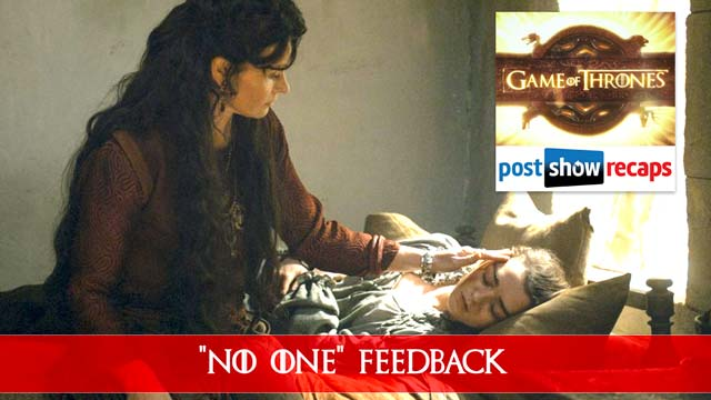 Game of Thrones 2016: Season 6, Episode 8 Feedback Show - No One