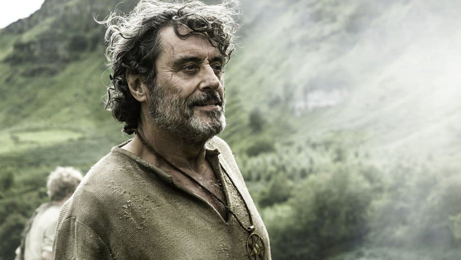 Ian McShane as Brother Ray on 'Game of Thrones'