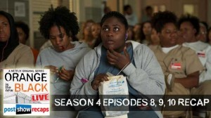 Orange is the New Black | Season 4 Episodes 8, 9, 10 Recap Podcast