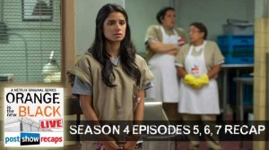 Orange is the New Black | Season 4 Episodes 5, 6, 7 Recap Podcast