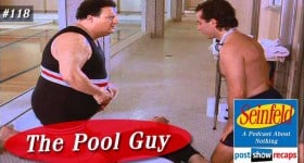seinfeld the pool guy episode 118 recap podcast