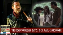 The Road to Negan, Day 2 | Rick Grimes, Carl & Michonne